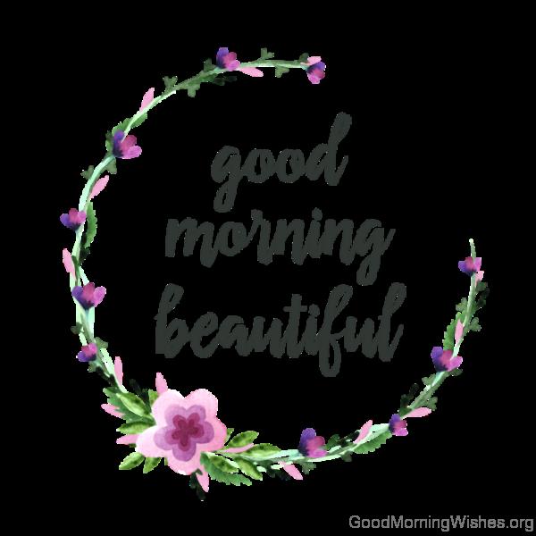 Adorable Good Morning Beautiful