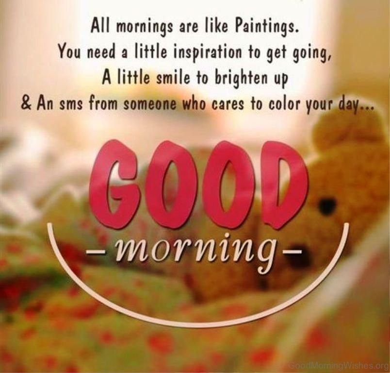 Morning like good Good Morning
