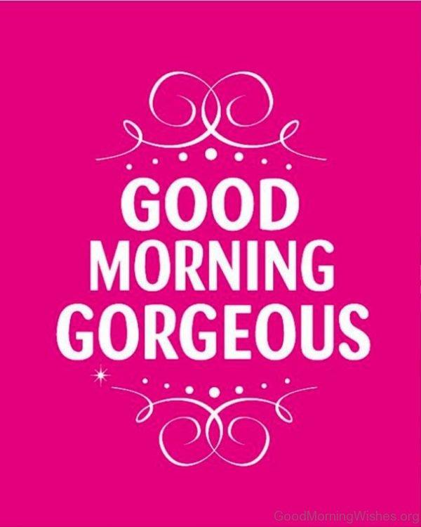 Awesome Good Morning Image 1