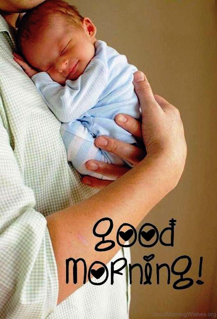 Beautiful Baby Good Morning
