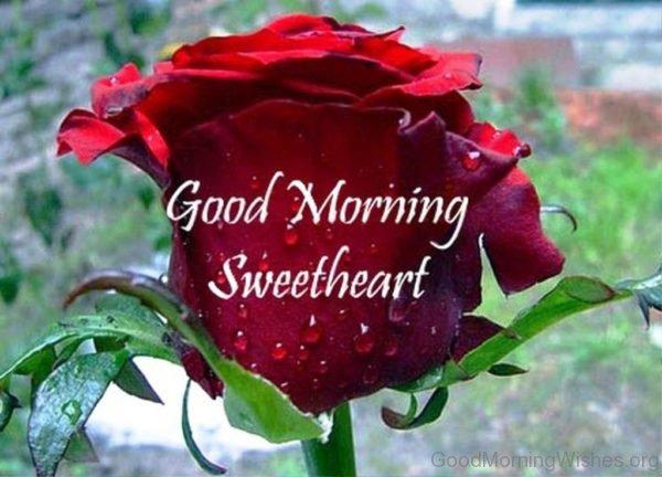 Beautiful Pic Of Good Morning Sweetheart