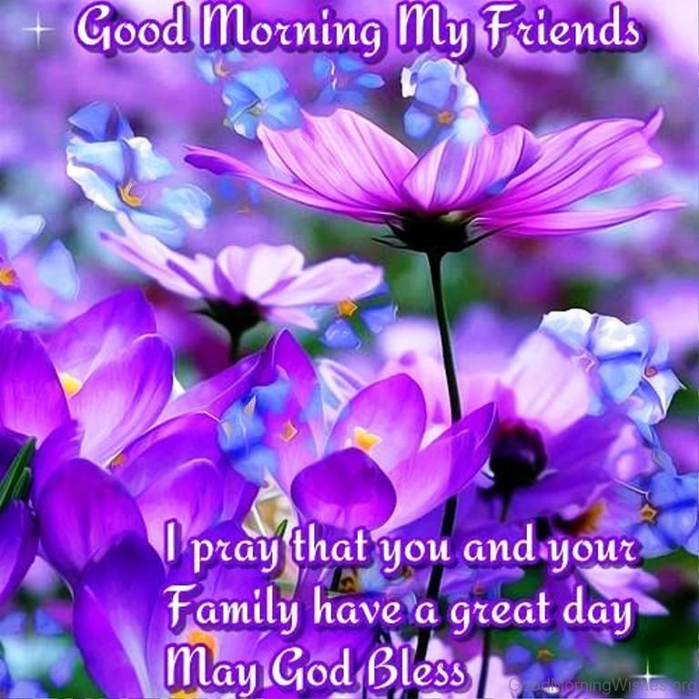 Good morning prayer for my friend