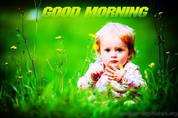 Good Morning Baby Pic