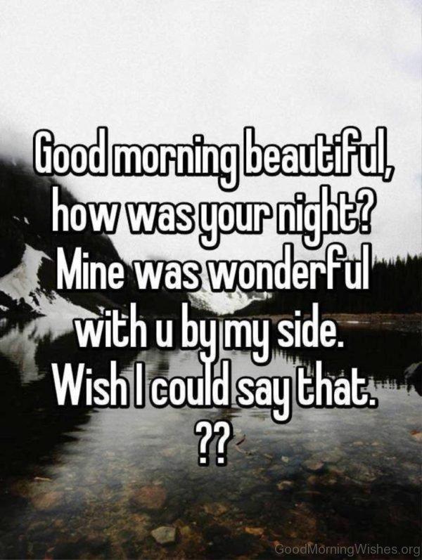 Good Morning Beautiful 3