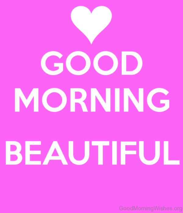 Good Morning Beautiful Image 1