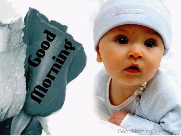 Good Morning Cute Baby