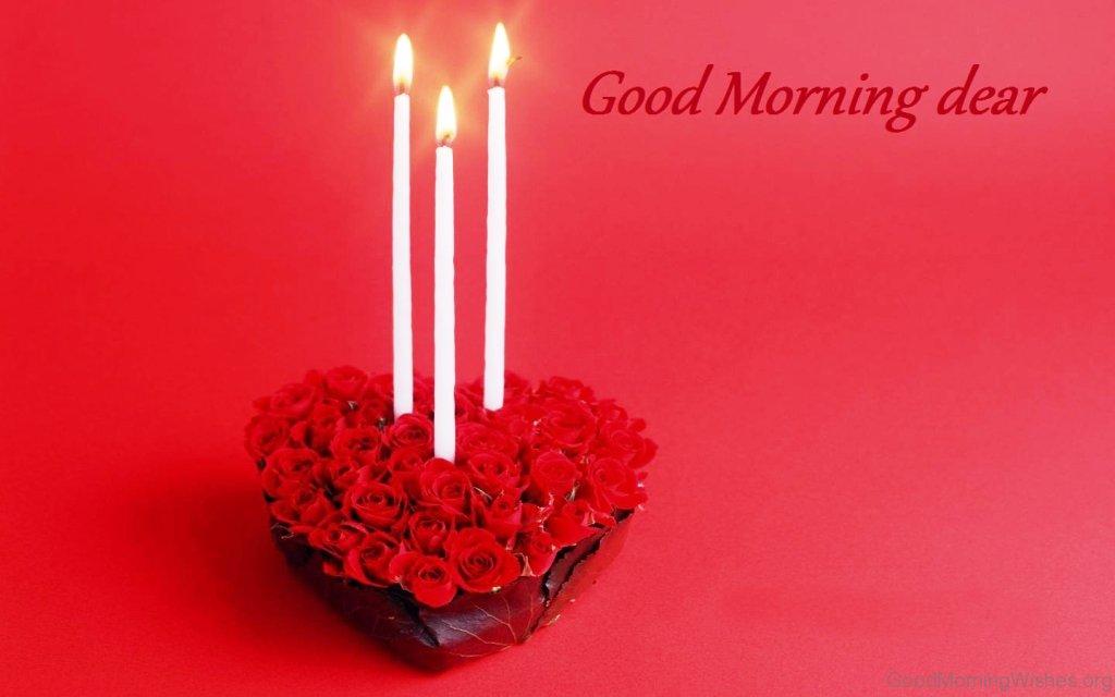 Good Morning Love Dear : Good morning wishes my love