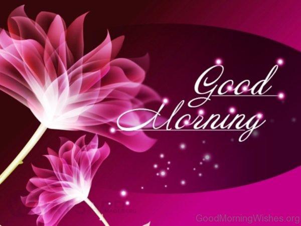 Good Morning Flowers Image