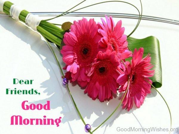 Good Morning Flowers Wallpaper