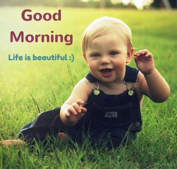 Good Morning Life Is Beautiful