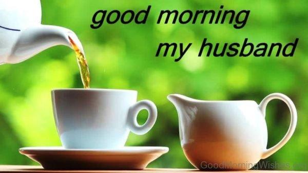 Good Morning My Husband Image