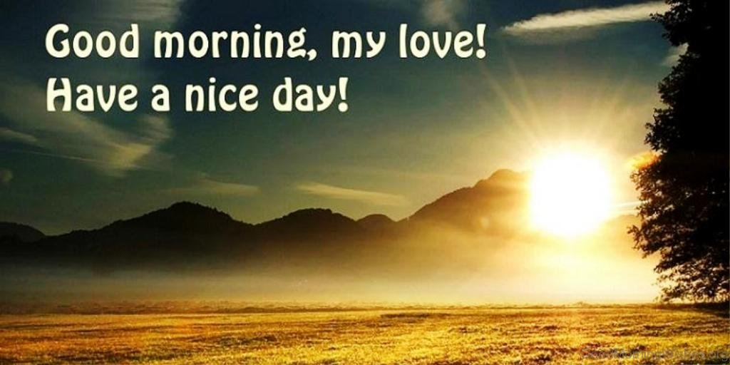 Good Morning Love One : Fresh good morning wishes