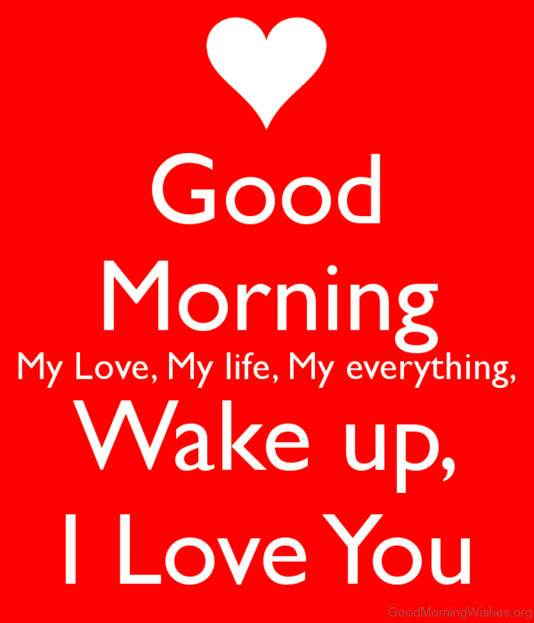 Good Morning My Love Lovingyou : Good morning wishes my love
