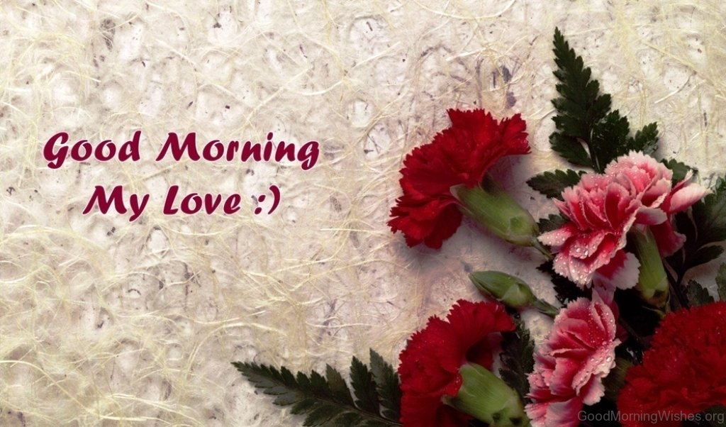 Good Morning My Love Images : Good morning wishes my love