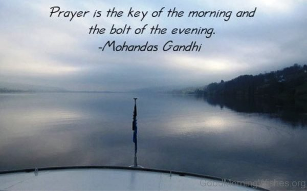 Good Morning Prayer Photo