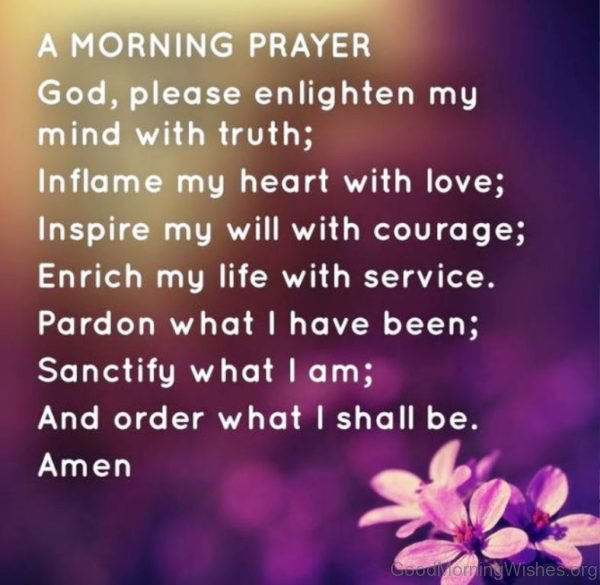 Good Morning Prayer Pic