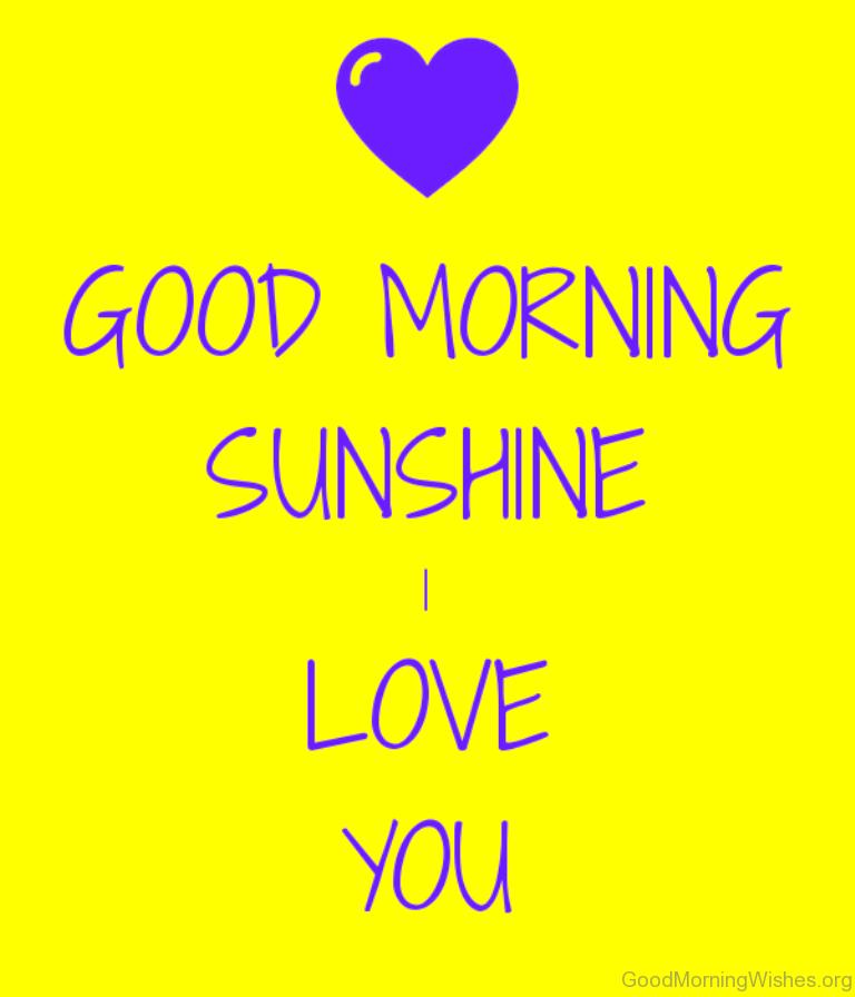 Good Morning Sunshine You Are My Sunshine : Good morning sunshine images
