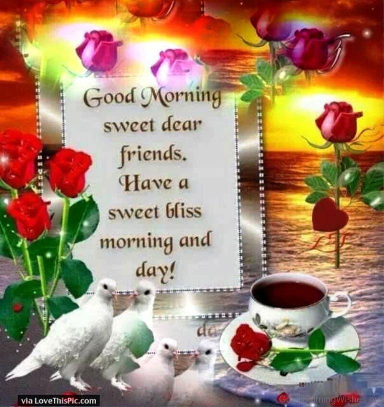 Good Morning Love Dear : Good morning dear wishes