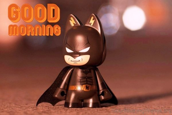 Good Morning With Batman