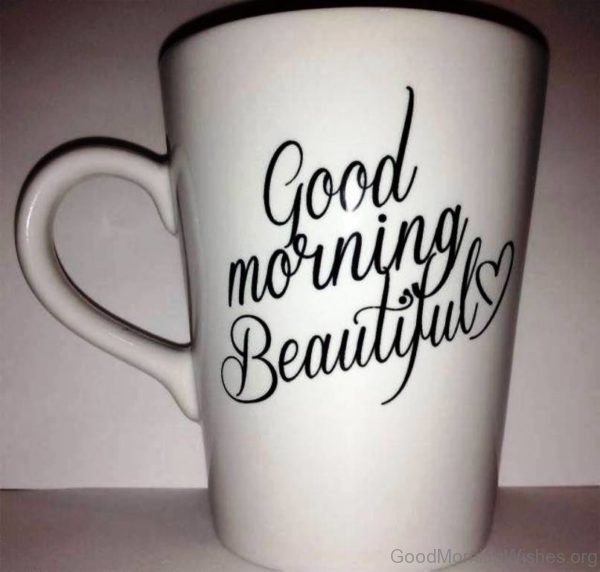 Good Morning With Cup