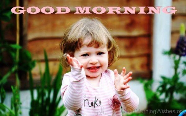 Good Morning With Lovely Smile