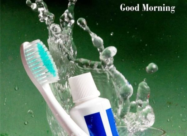 Good Morning With Toothbrush