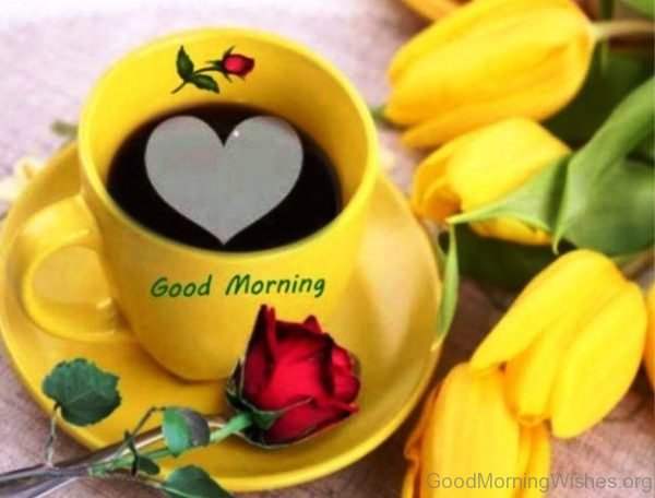 Good Morning With Yellow Flowers 1