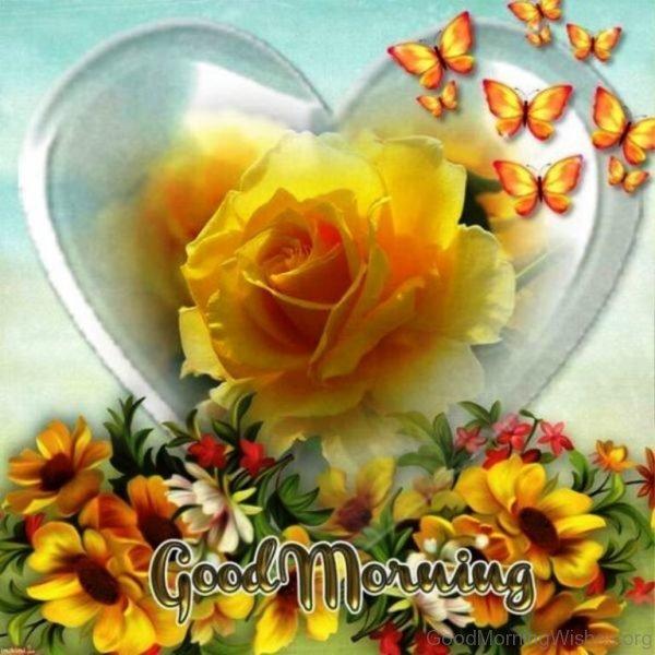 Good Morning Wth Yellow Flowers