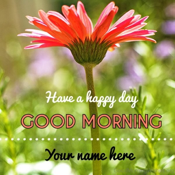 Have A Happy Day Good Morning