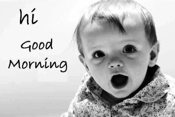 Hi Good Morning