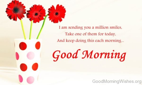 I Am Sending You A Million Smile
