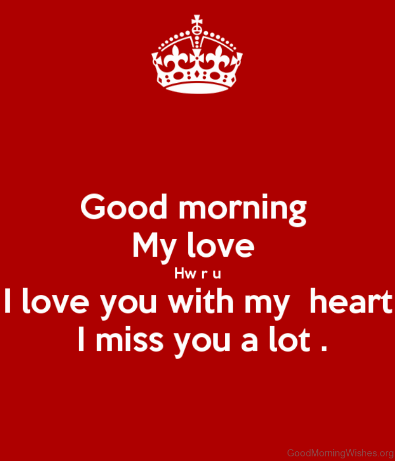 Good Morning My Love Yahoo : Good morning wishes my love