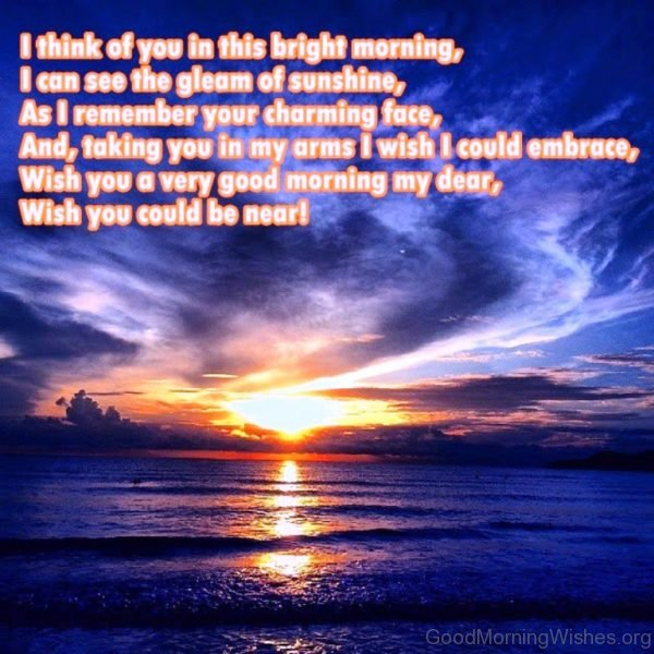 I Think Of You In This Bright Morning