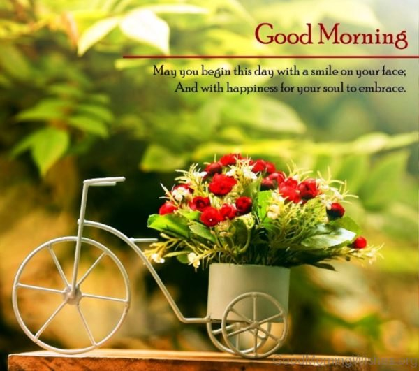 May You Begin This Day With A Smile On Your Face