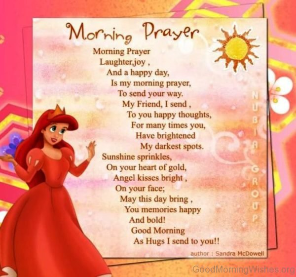 Morning Prayer Laughter Joy And A Happy Day