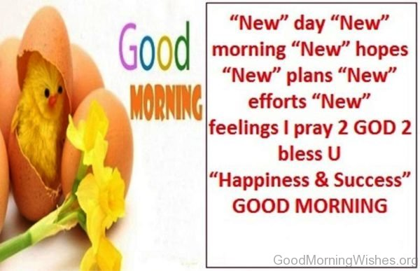 New Day New Morning New Hopes