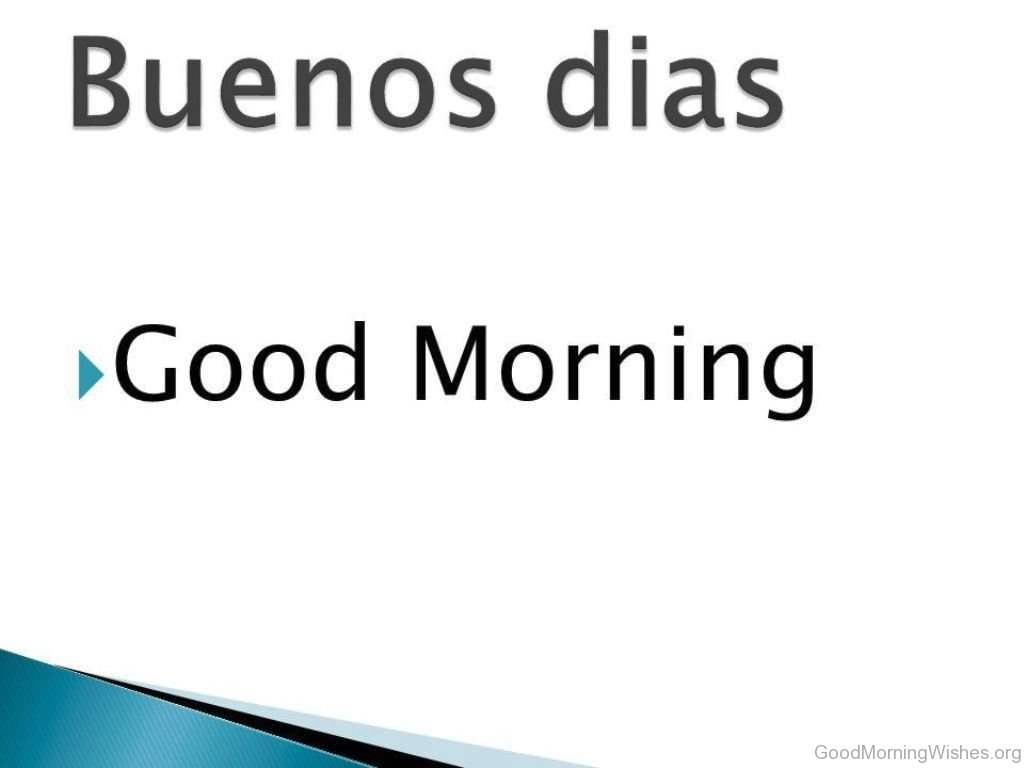 Good Morning Cards In Spanish : Good morning wishes in spanish