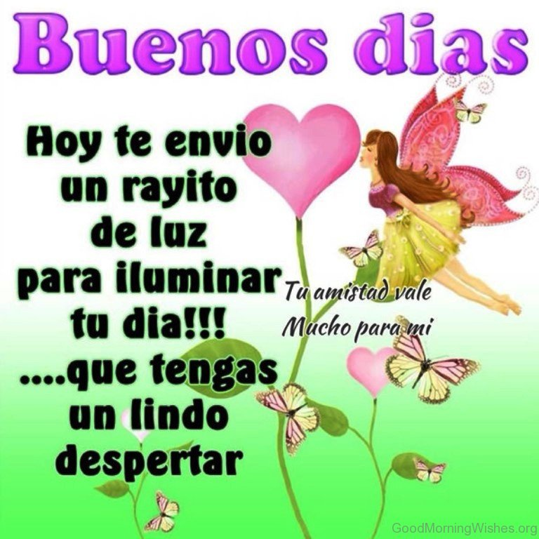 Good Morning In Spanish My Love : Good morning wishes in spanish