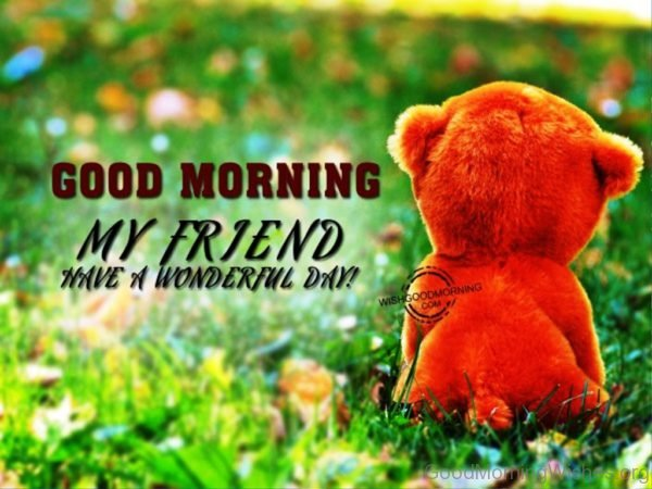 Pic Of Good Morning My Friend