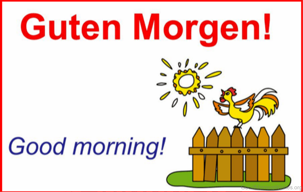 9 good morning wishes in german picture of good morning m4hsunfo