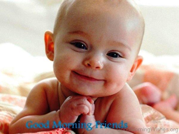Sweet Baby Good Morning Pic