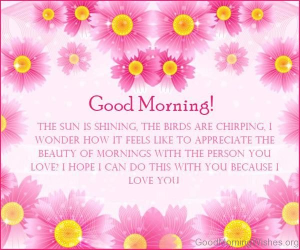 Sweet Good Morning Messages Image