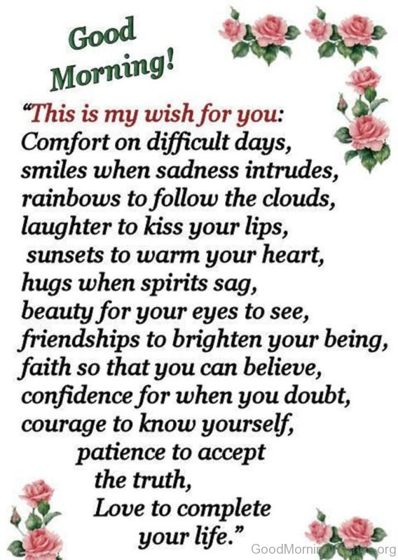 This Is My Wish For You