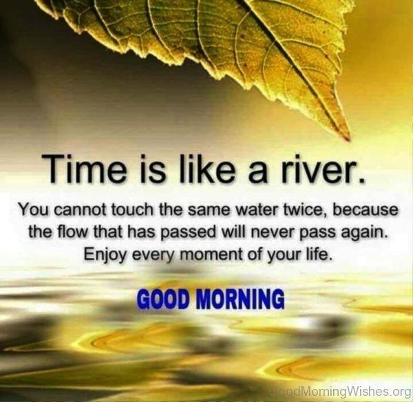 Time Like A River