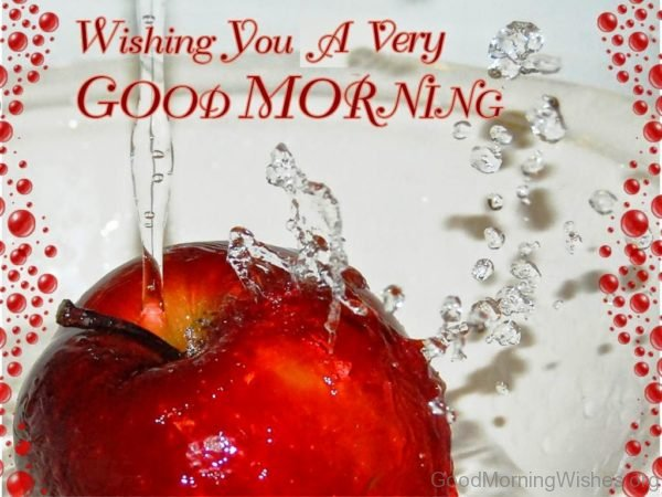 Wishing You A Very Good Morning 1