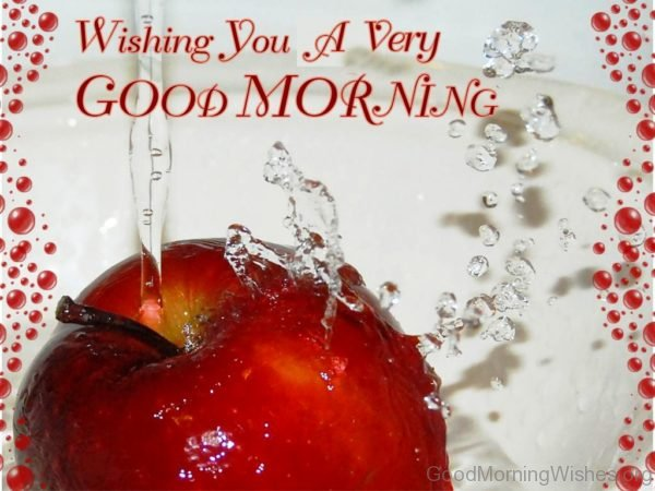 Wishing You A Very Good Morning 2