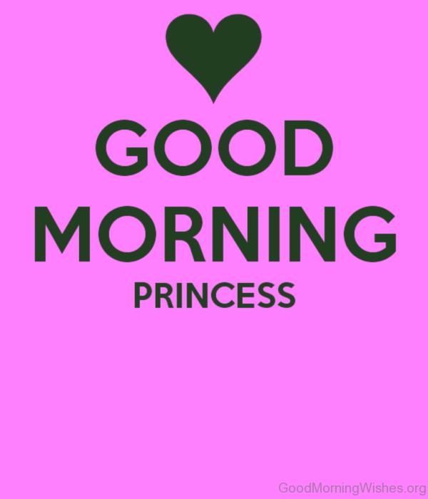Amazing Good Morning Princess Pic