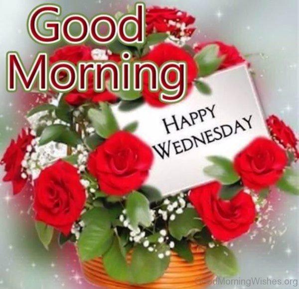 Amazing Pic Of Good Morning Wednesday