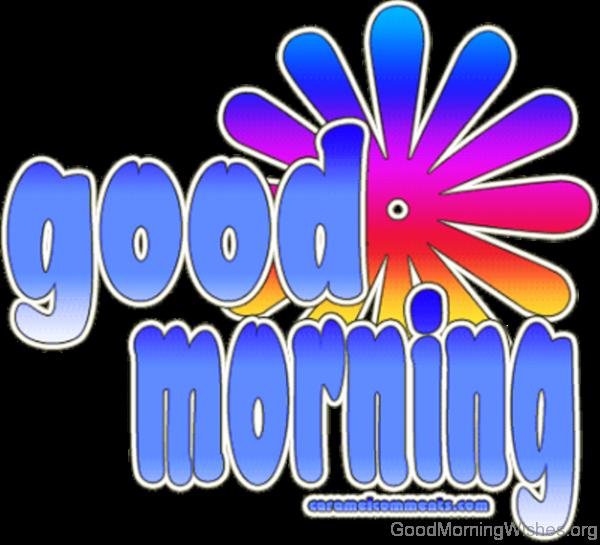 Awesome Good Morning Logo