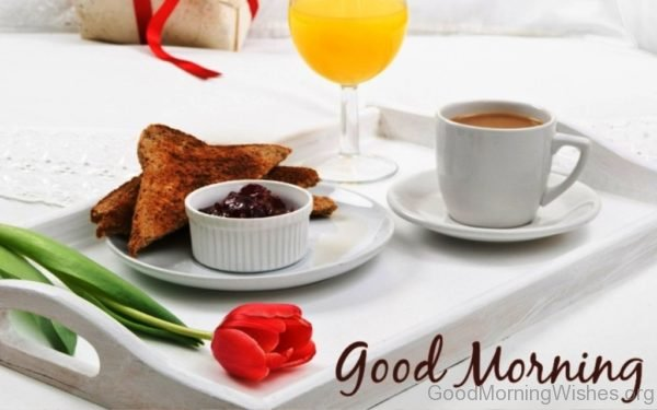 Awesome Photo Of Good Morning